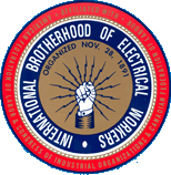 International Brotherhood of electrical workers logo